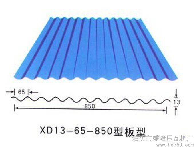 850 840组合彩钢压瓦机设备图片 850 840组合彩钢压瓦机...