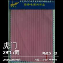 供应防静电绸0.5CM条纹