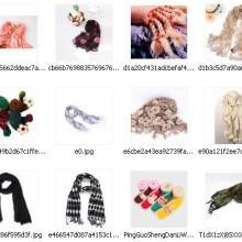 供应印花围巾提花围巾高档围巾
