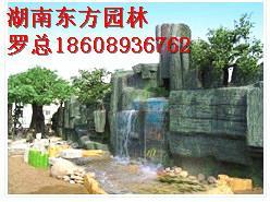 荆州塑石假山图片