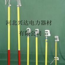 供应双舌式接地棒平口式接地棒手握式低压接地棒