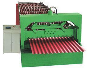 供应彩钢波浪板压瓦机设备