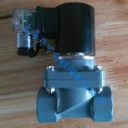 螺纹法兰承插式活接CPVC电磁阀图片