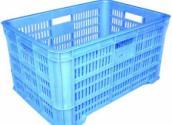 供应威海全新料塑胶筐果品筐乔丰12#果品筐