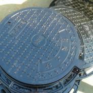 安平铸铁井盖图片