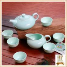 供应博晶蓝鲁青瓷兰馨业旺茶具
