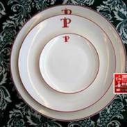 伯善骨瓷西餐陶瓷盘图片