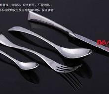 供应伯善高档不锈钢扒刀餐叉系列