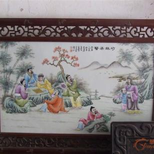 上海瓷板画鉴定拍卖图片