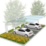 供应膜结构汽车停车棚,深圳停车棚制作厂家