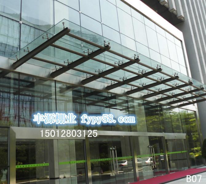 供应钢化玻璃棚钢化玻璃棚价格深圳钢化玻璃棚效果图钢化玻璃雨棚设