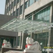 深圳钢化玻璃雨棚图片