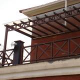供应木纹廊架/景观亭