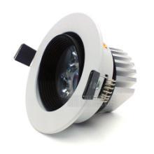 供应福州LED灯具批发3W防眩光天花筒灯,福州灯饰城怎么去批发