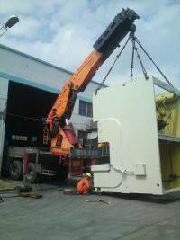 供应起重装卸吊装运输设备移位工厂搬迁园林种树货物上楼