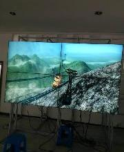 供应夏普60寸超窄边超大屏幕拼接显示单元批发