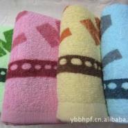印花毛巾图片