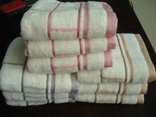 供应色织毛巾批发