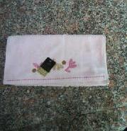 全棉割绒毛巾图片