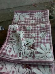 绣花毛巾图片