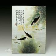 邓碧珊瓷版画图片