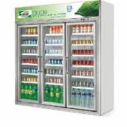 豪华型立式冷藏保鲜展示冷柜图片
