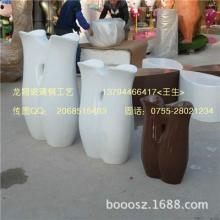 供应北京玻璃钢花盆图片