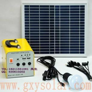 小型家用10W太阳能发电系统图片