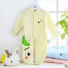 供应歌歌宝贝婴儿保暖连体衣宝宝爬服