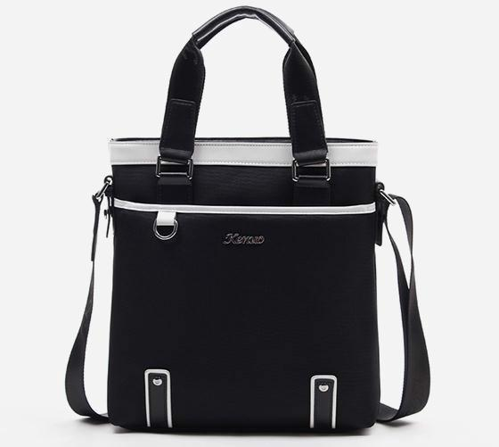 供应韩版男士商务公文包单肩包尼龙布时尚手提包 英伦包