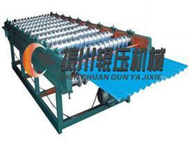 彩钢复合板生产线图片
