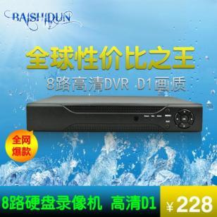 8路D1硬盘录像机监控P2P图片