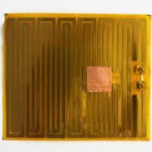 供应美发器材专用PI金属电热膜加热片图片
