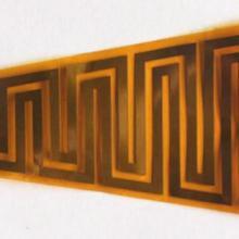 供应美发器材柔性加热器电热膜加热片图片