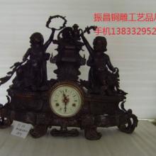 供应欧式工艺钟铜钟仿古钟河北钟表批发