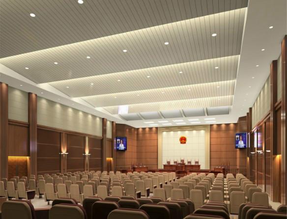 供应法院装修装饰工程承包 高清图片