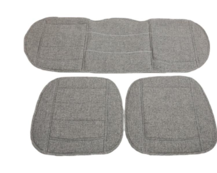 新款大连体羊毛汽车坐垫三件套图片高清图片