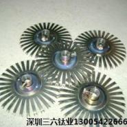 氧化钛碟钛挂具钛制品焊接图片