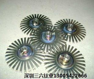 贵州氧化钛碟钛螺丝钛焊丝图片