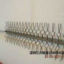 钛挂具、钛挂笼、钛碟深圳加工厂家