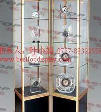 供应铝合金柜,BST-L001钛铝合金柜,钛合金柜,珠宝柜,旋转柜批发