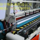 供应江苏客户的全自动中小型无纺布折叠机湿巾折叠机