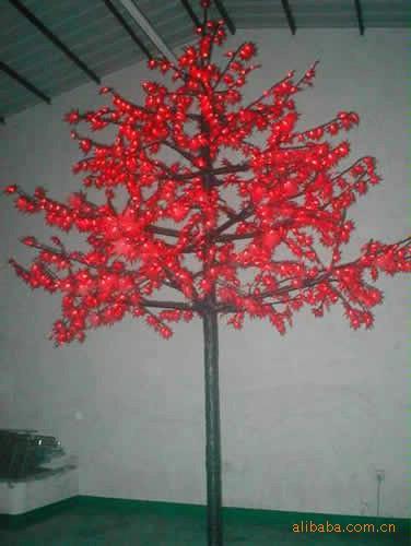 供应LED枫叶树灯图片