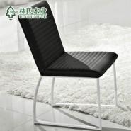 林氏木业皮艺现代餐椅时尚简约餐椅图片