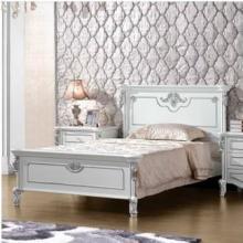 法拉丹顿MJ实木单人床儿童床 欧式儿童青少年卧室家具