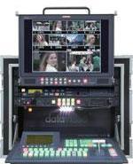 松下410MC便携式集成箱载演播室图片