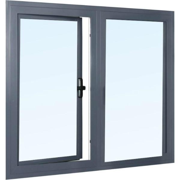 铝合金平开门窗图片/铝合金平开门窗样板图 (3)