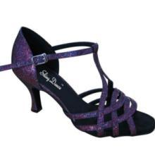 多条带幻彩拉丁舞鞋舞蹈鞋跳舞鞋 多带拉丁舞鞋批发