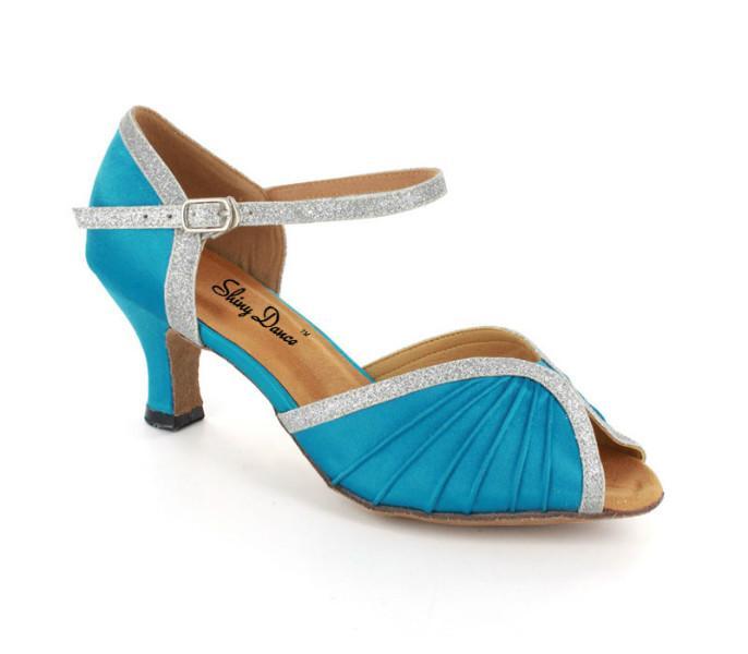 多彩女拉丁舞鞋,多彩女拉丁舞鞋图片