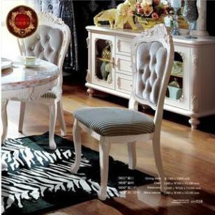约翰华兰欧式家具餐椅时尚简约实木图片